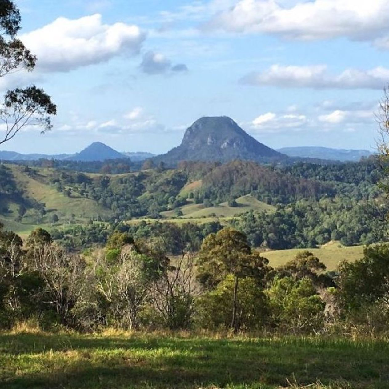 FAV view from Black Mountain overlooking Noosa Hinterland